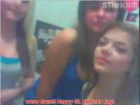 Stickam lesbians St Patricks Day