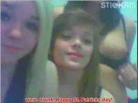 Stickam lesbians St Patricks Day