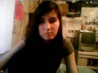 Stickam brunette girl 050