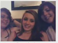 Omegle three girls flashing