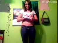 Stickam girl Adalin