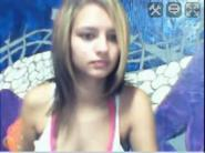 Stickam girl with pierced face