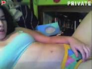 Stickam girl Kaitlyn brush bate